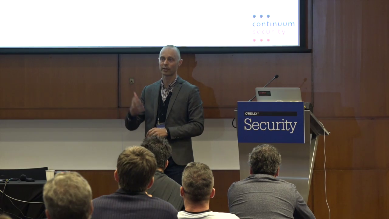 O'Reilly - Security Conference 2016 - Amsterdam, Netherlands (Full Course)