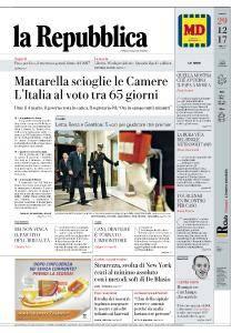 la Repubblica - 29 Dicembre 2017