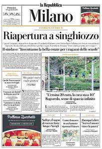 la Repubblica Milano - 19 Aprile 2020
