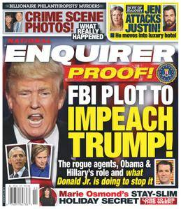National Enquirer - January 08, 2018
