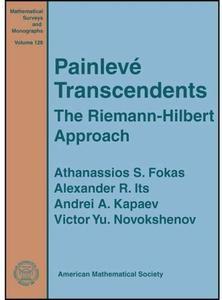 Painleve Transcendents: The Riemann-hilbert Approach