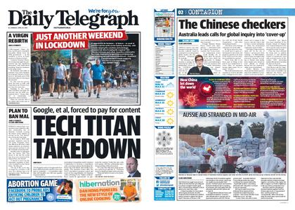 The Daily Telegraph (Sydney) – April 20, 2020