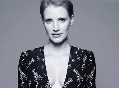 Jessica Chastain by Amy Troost for Madame Figaro September 2014