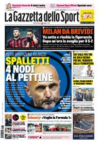 La Gazzetta dello Sport Roma – 30 novembre 2018