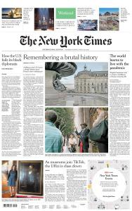 International New York Times - 27-28 June 2020