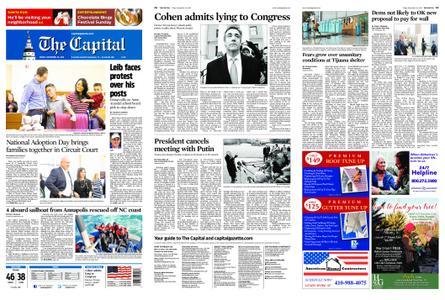 The Capital – November 30, 2018