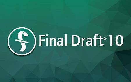 Final Draft 10.0.0 build 38 Mac OS X