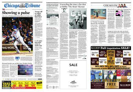 Chicago Tribune – October 19, 2017