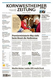 Kornwestheimer Zeitung - 27. Februar 2019