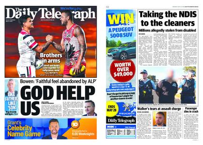 The Daily Telegraph (Sydney) – May 23, 2019