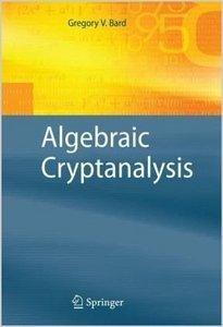 Algebraic Cryptanalysis (Repost)