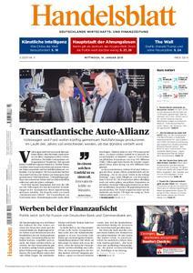 Handelsblatt - 16. Januar 2019