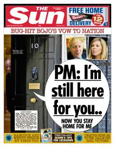 The Sun UK - 28 March 2020