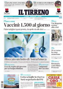 Il Tirreno Livorno - 12 Marzo 2021