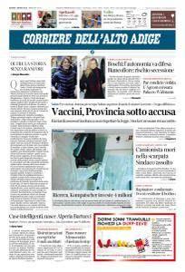 Corriere dell'Alto Adige - 1 Marzo 2018