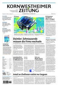 Kornwestheimer Zeitung - 21. Oktober 2017