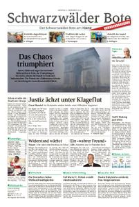 Schwarzwälder Bote Blumberg - 03. Dezember 2018