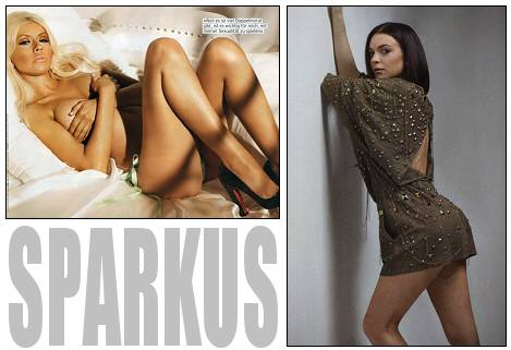 Christina Aguilera In German Maxim & Lindsey Lohan in L'Offciel