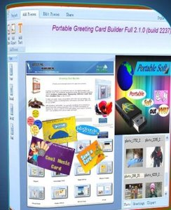 Greeting Card Builder 2.1.0 build 2237 Portable