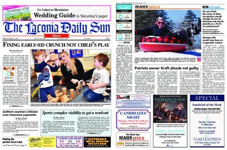 The Laconia Daily Sun – March 01, 2019