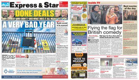 Express and Star City Edition – September 01, 2017