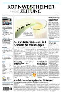 Kornwestheimer Zeitung - 28. September 2017