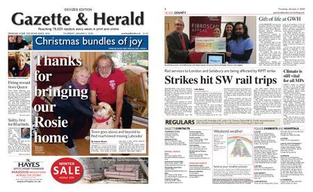 Gazette & Herald – January 02, 2020