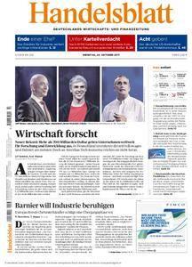Handelsblatt - 24. Oktober 2017