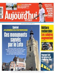Aujourd'hui en France - 16 Septembre 2021