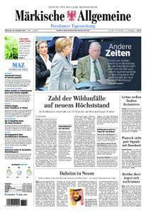 Märkische Allgemeine Potsdamer Tageszeitung - 25. Oktober 2017