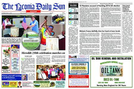 The Laconia Daily Sun – July 14, 2018