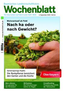 Bayerisches Landwirtschaftliches Wochenblatt Oberbayern - 03. September 2020