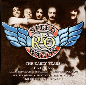 REO Speedwagon - The Early Years 1971-1977 (2018) {8CD Box Set}