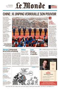 Le Monde du Jeudi 26 Octobre 2017