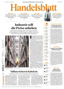 Handelsblatt - 16 August 2021