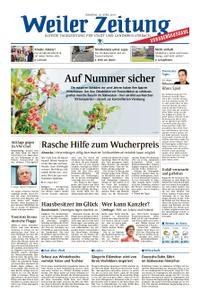 Weiler Zeitung - 16. April 2019