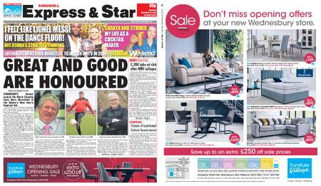 Express and Star Sandwell Edition – December 29, 2018