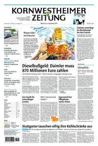 Kornwestheimer Zeitung - 25. September 2019