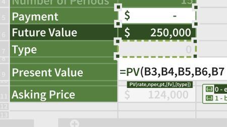 Excel: Financial Functions in Depth