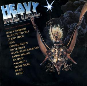 Heavy Metal - Music From The Motion Picture (1981) Asylum Records/DP-90004 - US 1st Pressing - 2 LP/FLAC In 24bit/48kHz