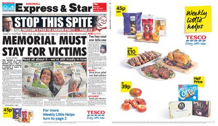 Express and Star Sandwell Edition – May 30, 2019