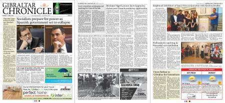 Gibraltar Chronicle – 01 June 2018
