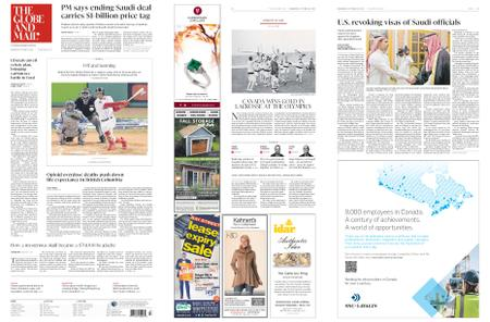 The Globe and Mail – October 24, 2018