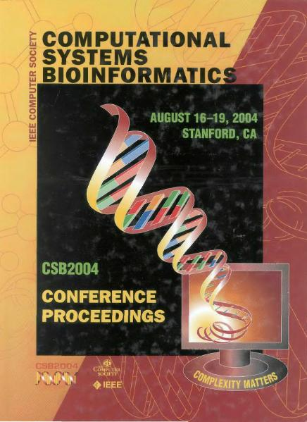 Computational Systems Bioinformatics Conference