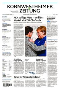 Kornwestheimer Zeitung - 08. Dezember 2018