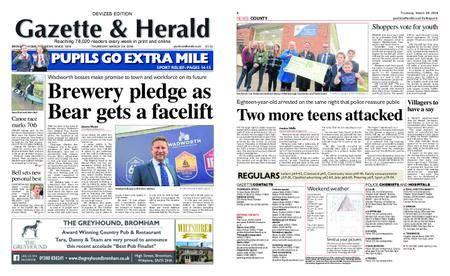 Gazette & Herald – March 29, 2018