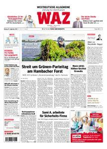 WAZ Westdeutsche Allgemeine Zeitung Oberhausen-Sterkrade - 10. September 2018