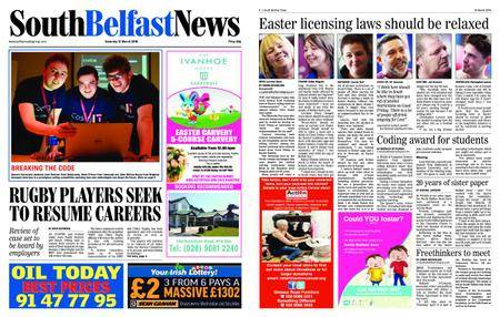 South Belfast News – March 29, 2018