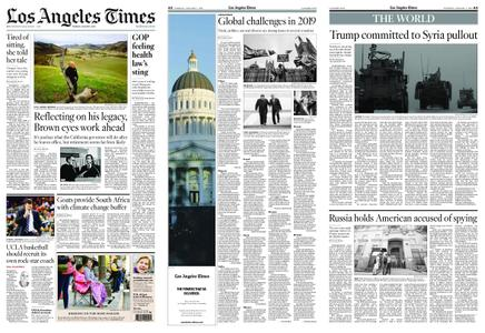 Los Angeles Times – January 01, 2019