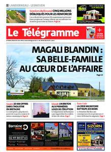 Le Télégramme Landerneau - Lesneven – 23 mars 2021
